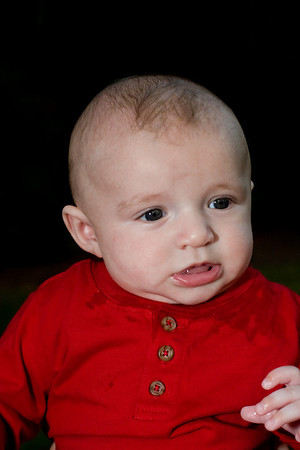 Jackson @ 16 weeks with Family