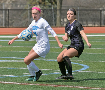 Downers Grove North vs Downers Grove South girls soccer