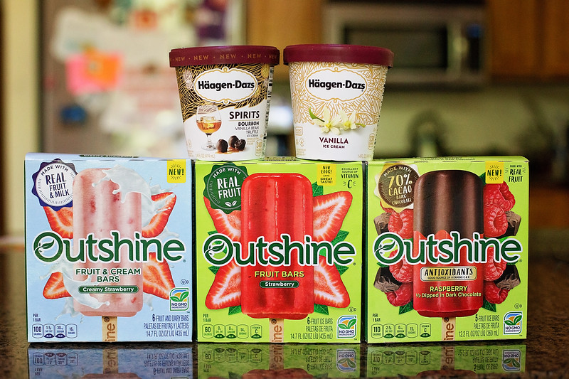 Nestle and Haagen-Dazs products from Stop & Shop for summer bucket list jar