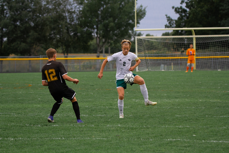 Holy Family Boys Varsity Soccer vs. Hutchinson, 9/26/19: Thomas Aragon-Menzel '20 (2)
