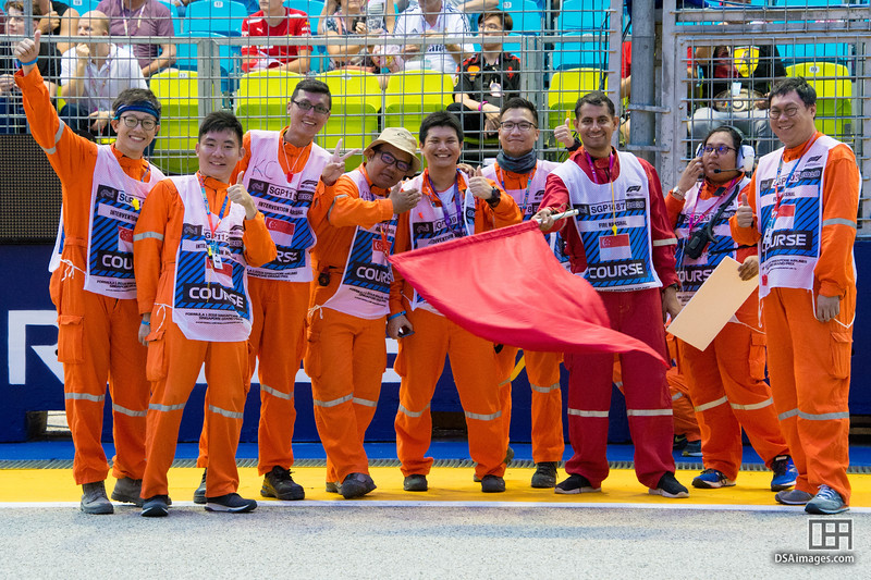 Course Track Marshals