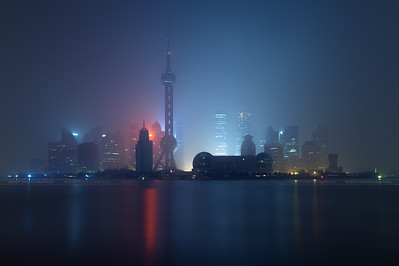 Shanghai Before / After processing in Lightroom - 11/03/2014