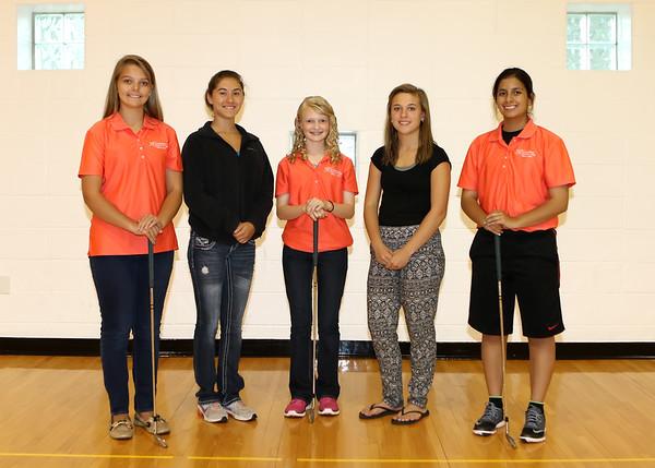 SNHS Girls Golf Team 2015