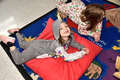 Second Grade Enjoys A PJ Day photos by Gary Baker