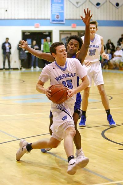 20190111 Boys Varsity Basketball Churchill at Whitman