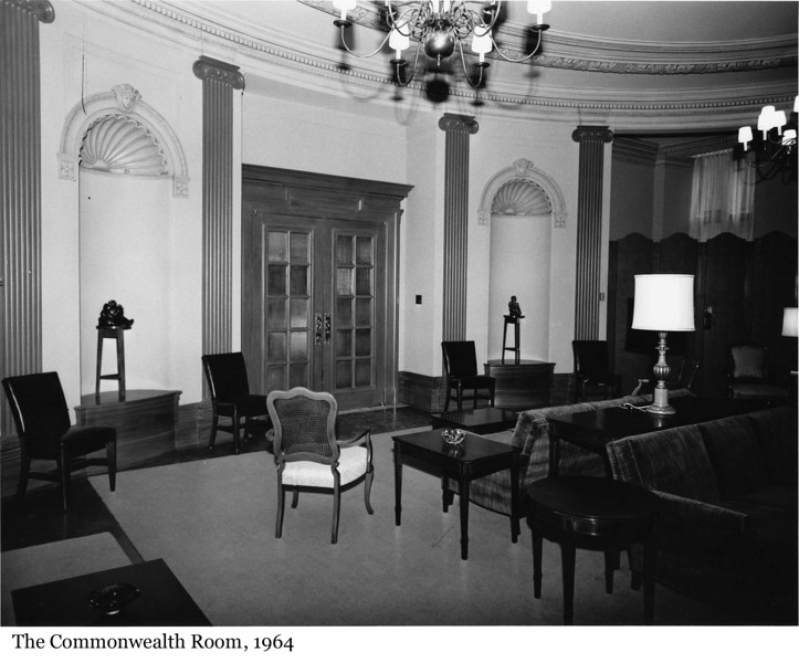 The Commonwealth Room - La Salle du Commonwealth, 1964