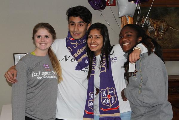 Soccer Academy Reception 12 Feb 2015