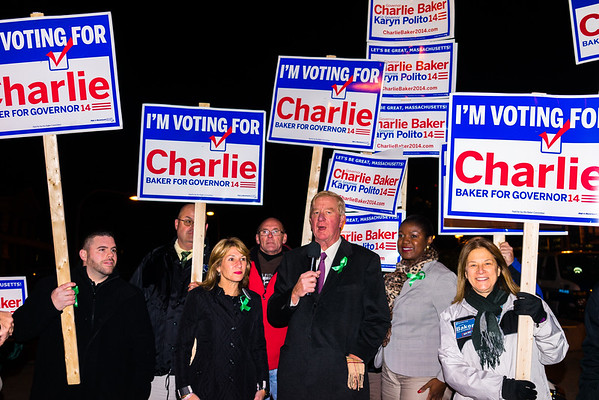 2014-11 | Baker - Polito Rally with Fmr Gov William Weld