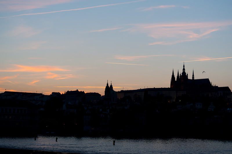 Sunset in Prague, Czech Republic