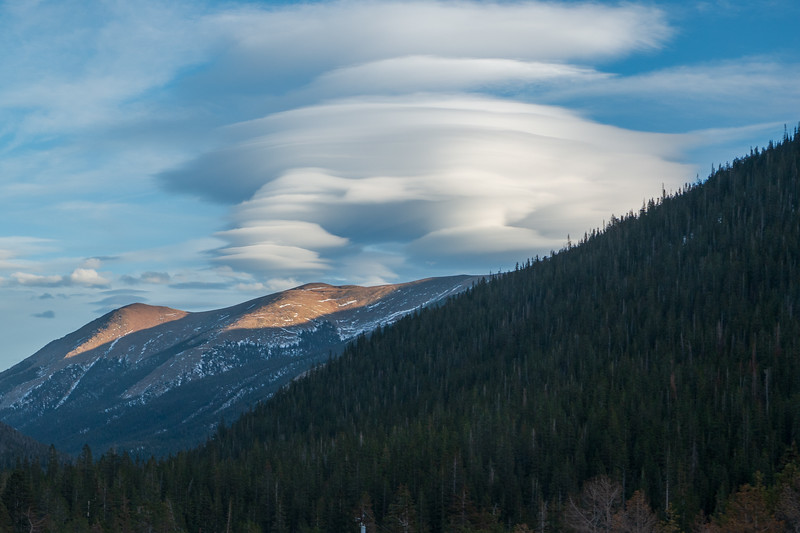 Colorado Interesting Cloud Structure