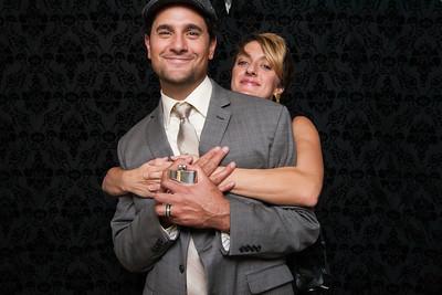 Seth and Emilie Wedding Booth