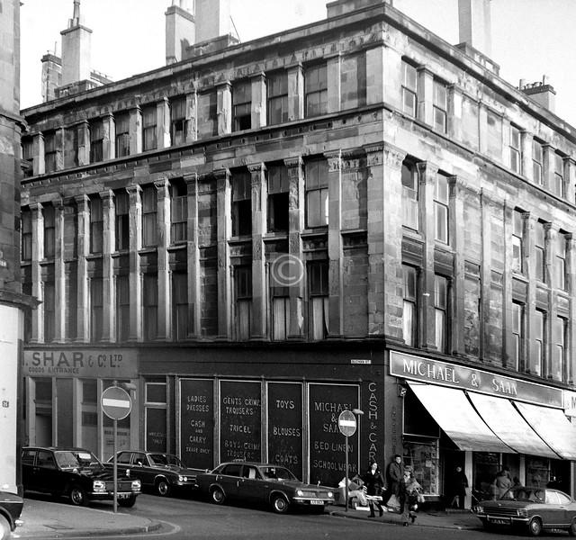 Buchan St and Norfolk St.    November 1973
