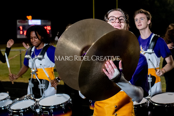 Broughton varsity football vs Cardinal Gibbons. Band and Dance Team Senior Night. October 25, 2019. MRC_3837