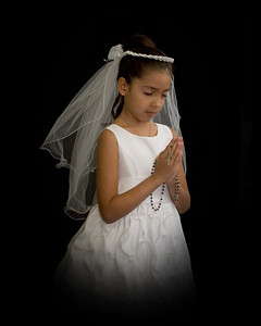 Natalie's 1st Communion