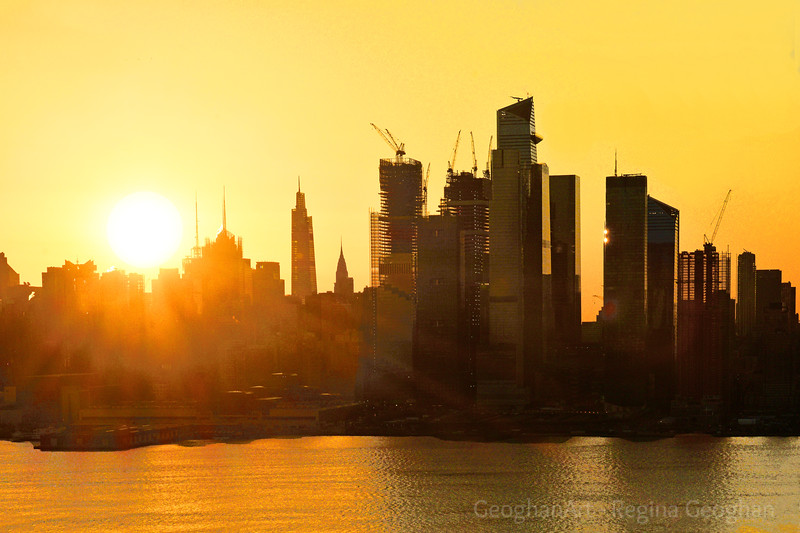 NYC Golden Sunrise