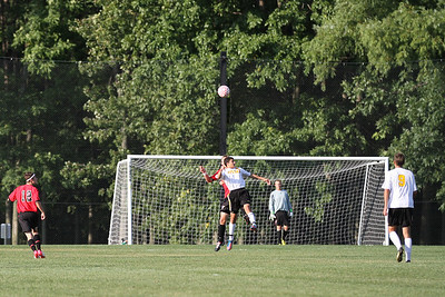 Athena v Hilton boys soccer 2012
