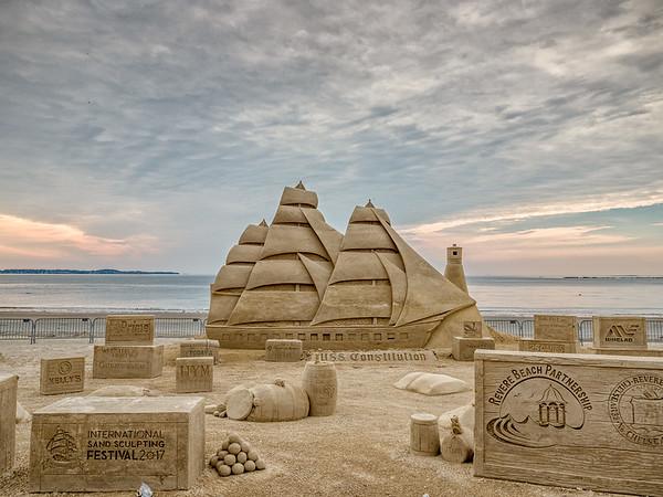 2017 Revere Beach Sand Sculpture Festival