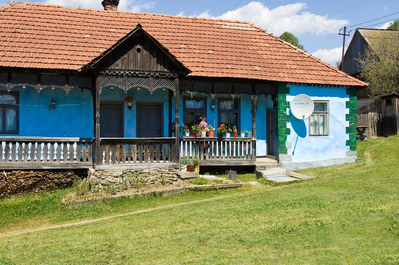 Ghimes village, Trotus valley, Moldavia, Romania