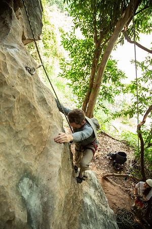 Nam Pha Pai Yai Climbing with RIS Crew 10/06/19