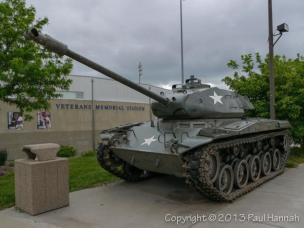 Veterans Memorial Stadium - Cedar Rapids, IA - M56 & M41