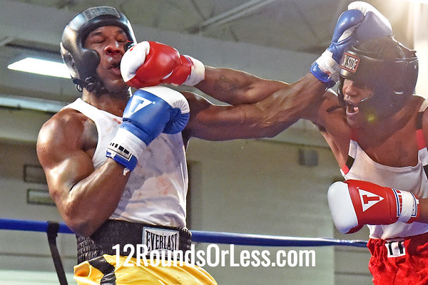 "Bout 10 DeMarcus Minter, Art Torrey Boxing ""Double Trouble"" -vs- Alante Green, Zelma George/Empire Boxing, Heavywt, Open"