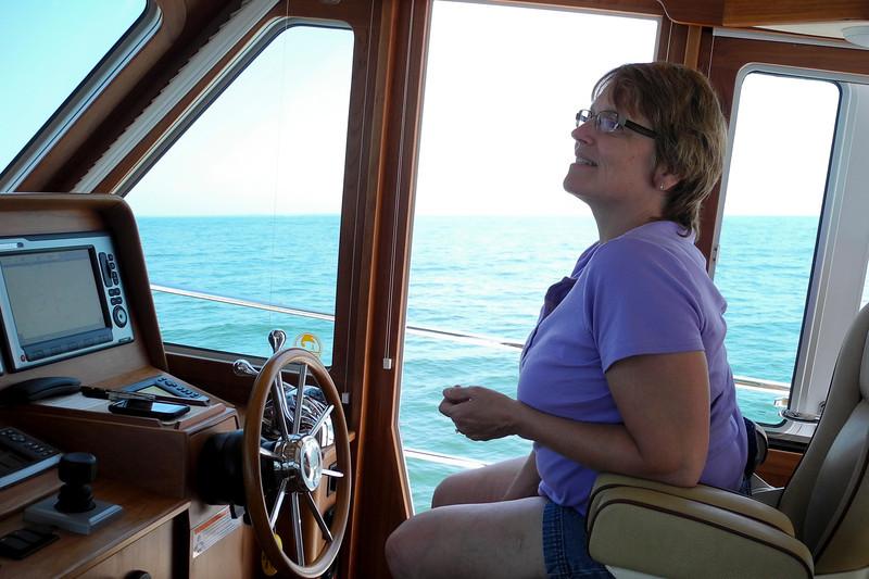 Underway Across Lake Erie