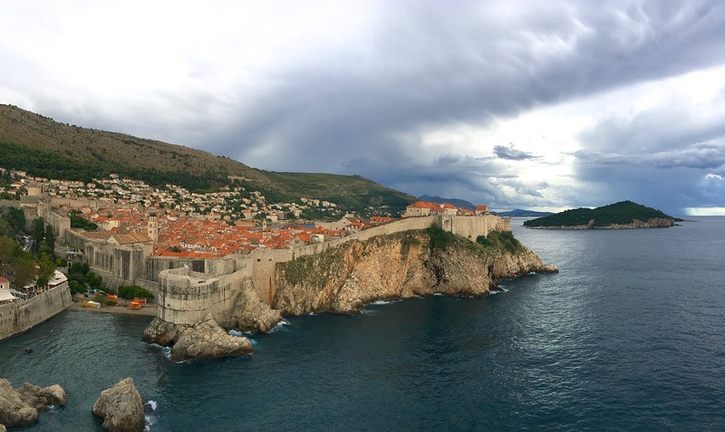 Spectacular overview of the Old City from Fort Lawrence (Lovrijenac) - Dubrovnik
