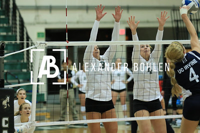 2014 Cal Poly Volleyball vs Irvine