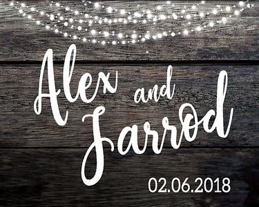 02-06-2018 ~ Alex and Jarrod Wedding