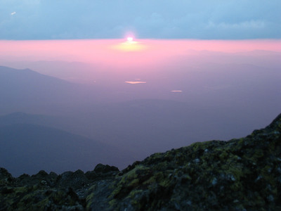 Mt Niphon Sunrise and Sunset 07312007