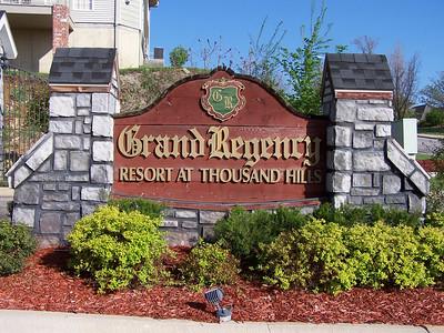 Grand Regency at Thousand Hills, Branson MO Nov. 2007