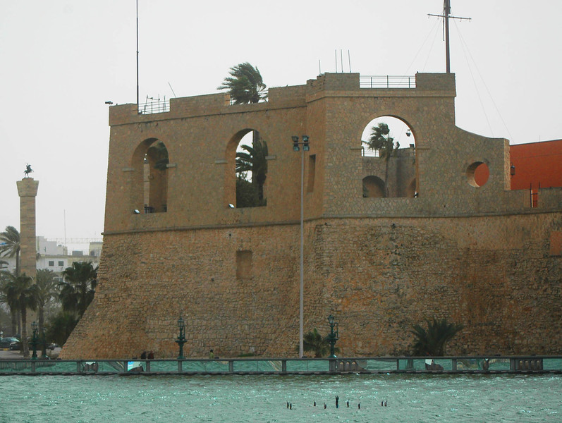Tripoli: Ottoman fort (now the National Museum)