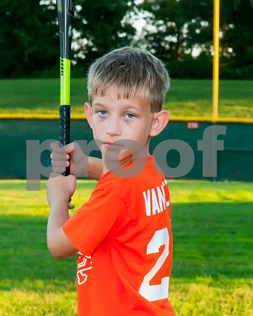 2016 Fall Ball 7-8 Orange Baseball Team