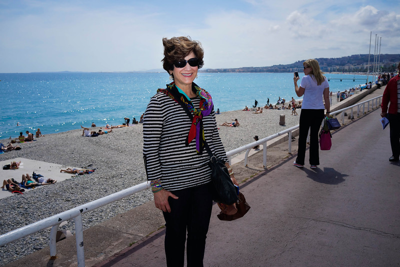 Ruth Ann Lawson at Nice, France