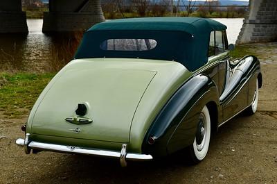 B3YA Bentley R Type Park Ward Convertible