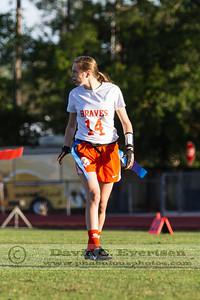 Girls Varsity Flag Football - 2013