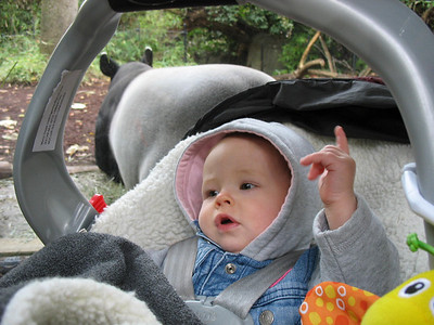 Nikolaus im Zoo mit Sabine