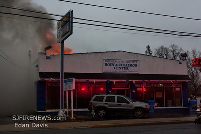 12-21-2011, 2nd Alarm Commercial Structure, Bridgeton City, Cumberland County, 693 N. Pearl St. Bridgeton Automotive