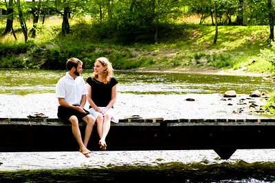Kaylan & Matt's Engagement Portraits