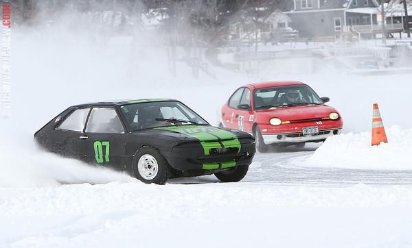 Waneta Ice Cars 2-8-14