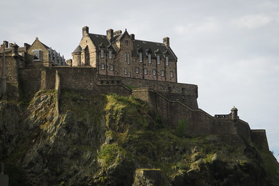 Edinburgh, seen in passing