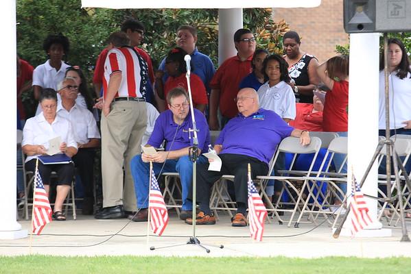 9/11 15th Anniversary Ceremony.  9/11/16