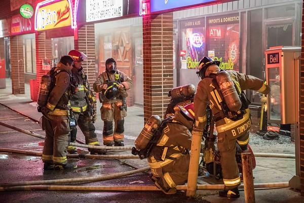 November 2, 2019 - Working Fire - 4455 Sheppard Ave. E