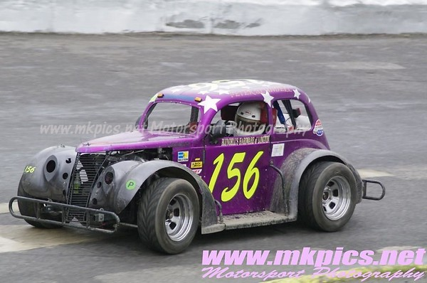 Oval Track Legends, Northampton 15 September 2013