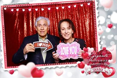 Gigante Restaurant Valentine's Day