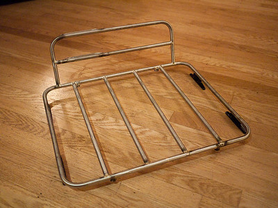 Cycle Truck Rack in Stainless