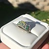 2.10ct Art Deco Peruzzi Cut Diamond Ring, GIA W-X SI2 34