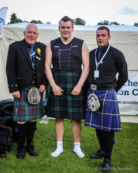 Scottish Backhold Wrestling Prize Winner -Ásmundur Hálfdán Ásmundsson