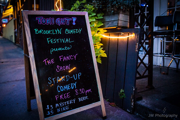 The Fancy Show for Brooklyn Comedy Festival 8/23/16 @ the Room at Dizzy's on Fifth