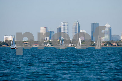 Pan Am Qualifiers for J24's Feb. '07- Spinnaker's & Tampa Skyline